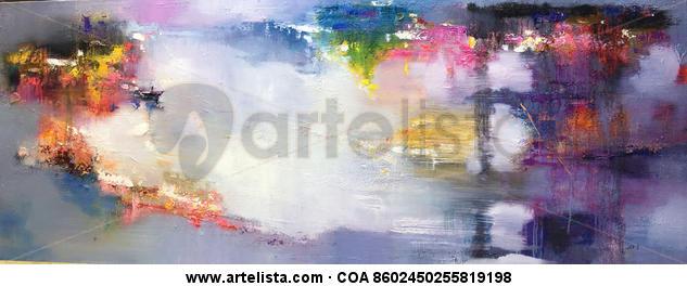 Abstract 366 Lienzo Óleo Otros
