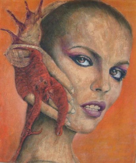 Susurro Canvas Oil Portrait