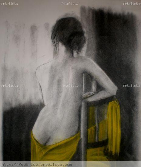 Desnudo Técnica Mixta