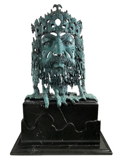 El Rey Midas Figurativa Bronce