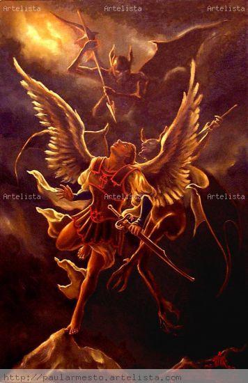 Ange d*Amour Óleo Lienzo Figura