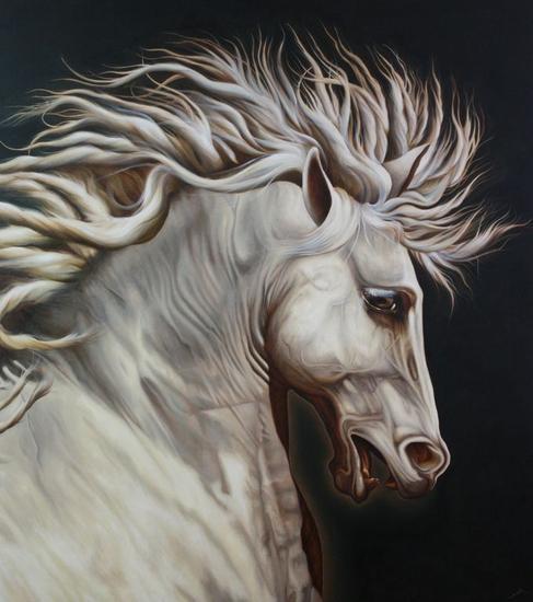 Renovatio Oil Animals Canvas