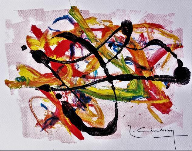 Art Comp.Color - 56 Others Mixed media Paper