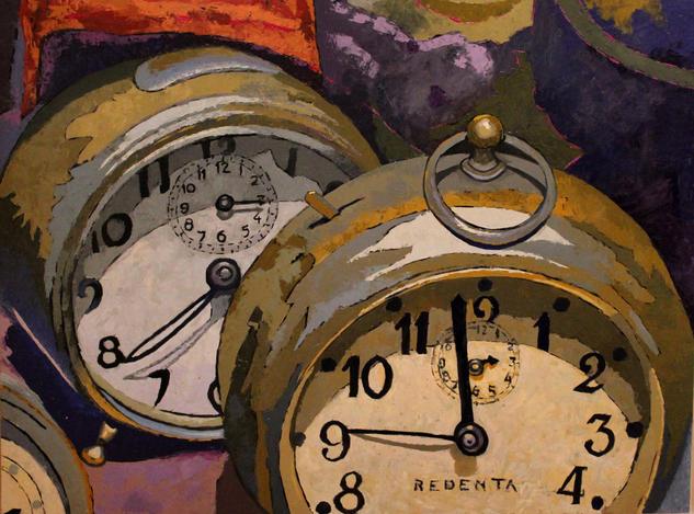 As time goes by Bodegones Tabla Óleo
