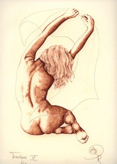 Desnudo - V Huecograbado