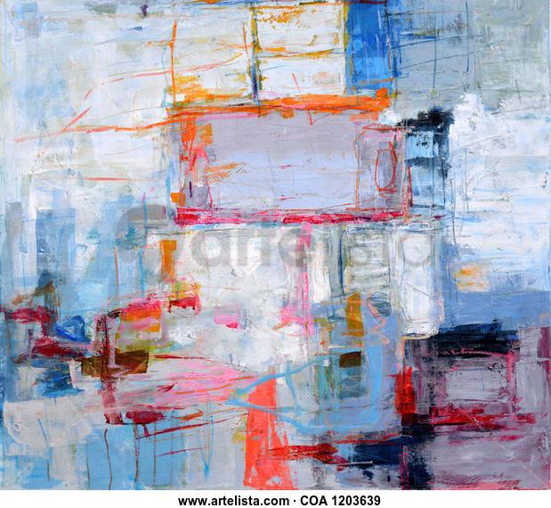 Abstract 726 Otros Acrílico Lienzo