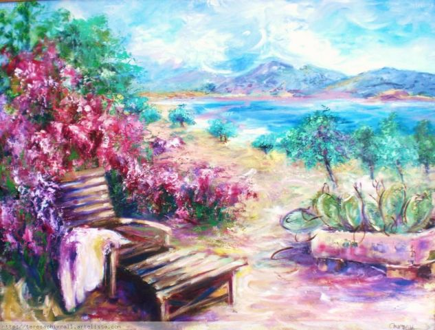 hamaca Canvas Oil Landscaping
