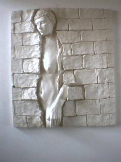 Mural Caida del Muro Media Mixta Lienzo Cerámica Figurativa