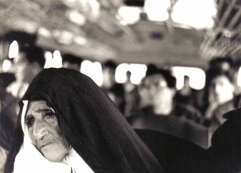 La Monja-The Nun Arquitectura e interiorismo Blanco y Negro (Química)