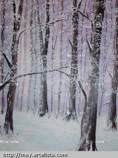 paisaje nevado iii