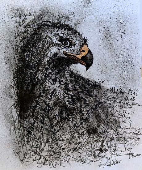 signature Papel Lápiz (Negro) Animales