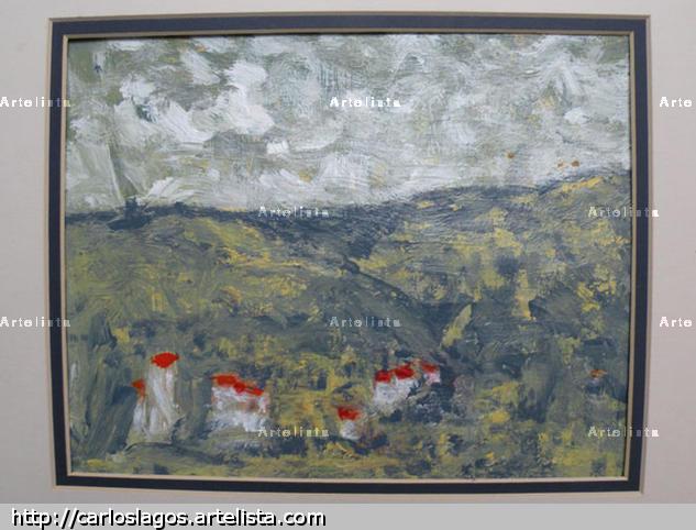 La Provence  Landscaping Acrylic Paper