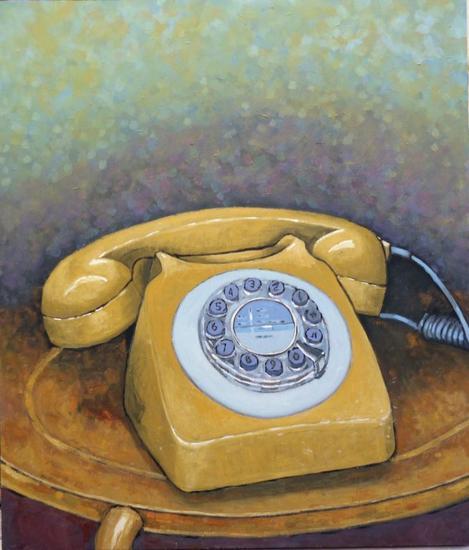 Call me now¡¡ Otros Óleo Tabla
