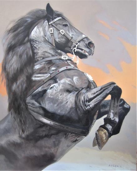 NOCTURNO Animals Oil Canvas