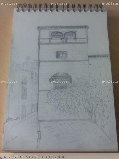 palacio museo picasso Carboncillo