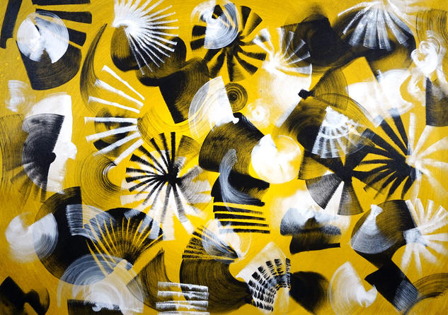 Composition No. 208 Others Acrylic Canvas