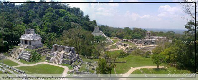 Palenque 2 Arquitectura e interiorismo Color (Digital)