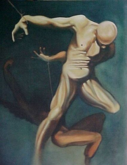 Despertar Canvas Oil Figure Painting