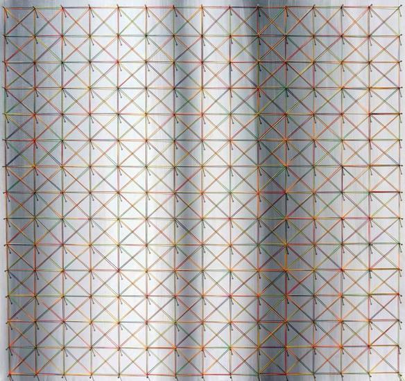 String art Nailed it Series No. 124 Mixta Madera