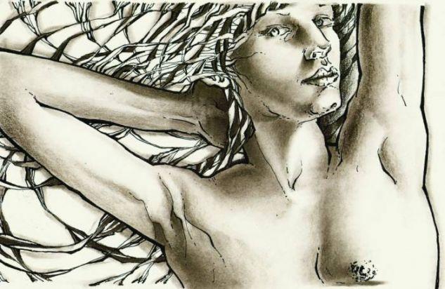 desnudo femenino I Técnica Mixta