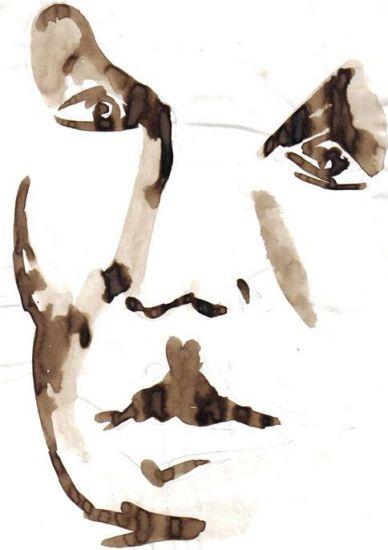rostro 9 Tinta