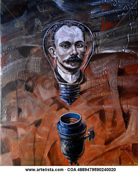 la idea Retrato Acrílico Lienzo