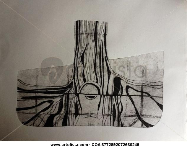 Raiz de Coigüe Tinta serigráfica
