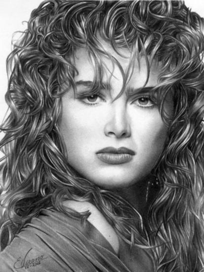 Brooke Shields Grafito
