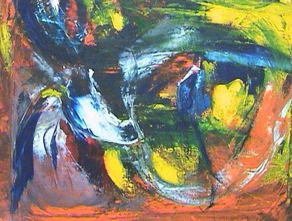 Golpeado Oil Canvas Portrait