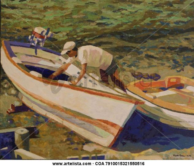 barcas en la isleta del moro