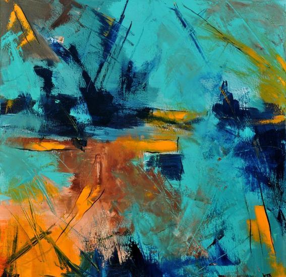 abstract 6621903 Paisaje Acrílico Lienzo