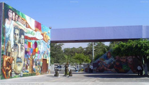 MURALES EN COLIMA COL. MEXICO Acrílico Otros Otros