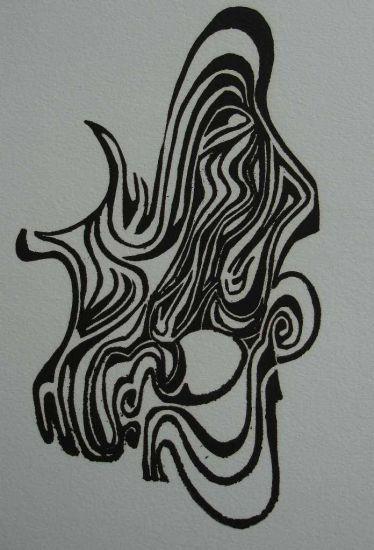 Máscara Linograbado