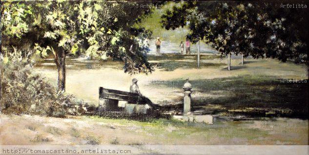 A ORILLAS DEL DUERO- ZAMORA Canvas Oil Landscaping