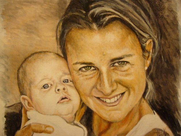 catalina Acrylic Canvas Portrait
