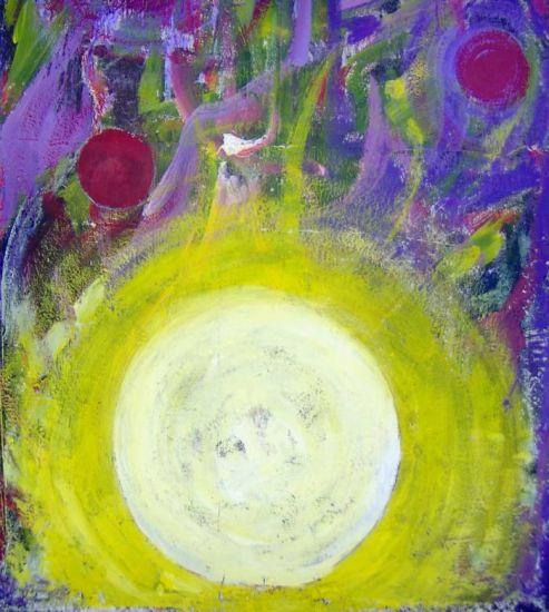 Erdtrabant-Mond Acrílico Otros Figura