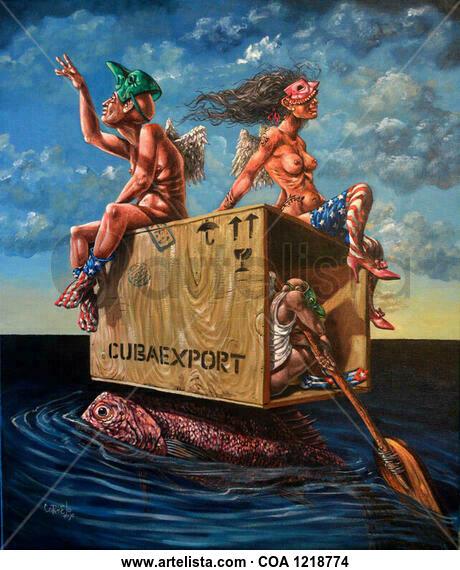 Cubaexport Marina Acrílico Lienzo