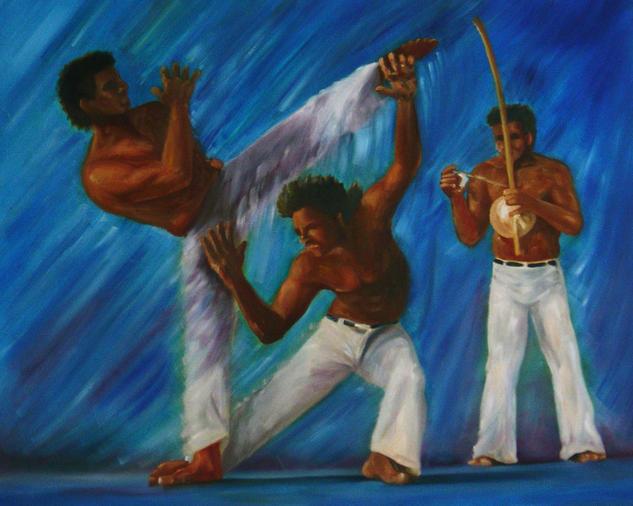 Capoeira Oil Canvas Landscaping
