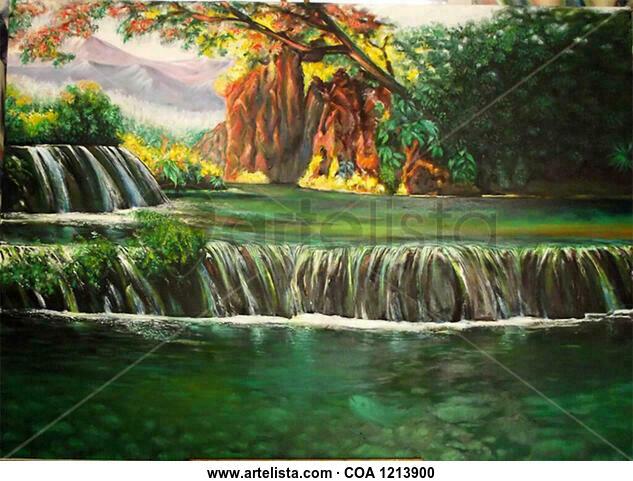 Paisaje 2 Landscaping Oil Canvas