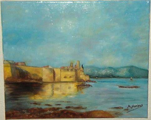 Castillo Óleo Lienzo