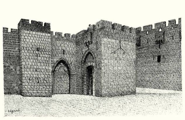 JAFFA GATE Tinta