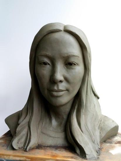 Gao Wei Terracota Figurativa
