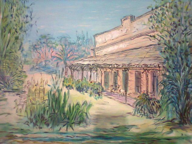 la vieja estancia  Landscaping Others Canvas