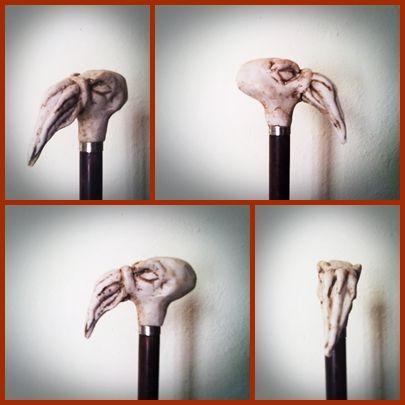 Bastón cabeza de chtulu Figurativa Otros