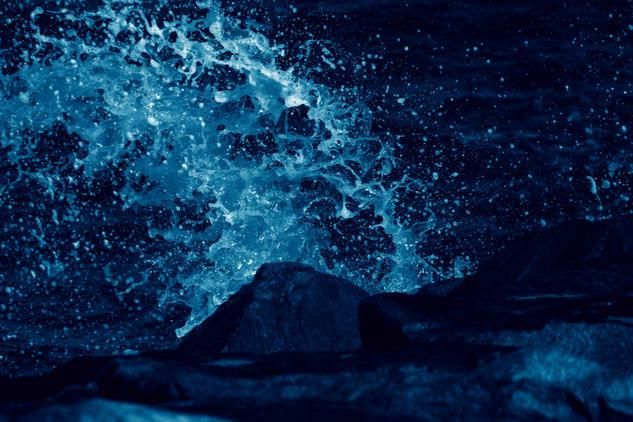 Blue Wave Color (Digital) Conceptual/Abstracto