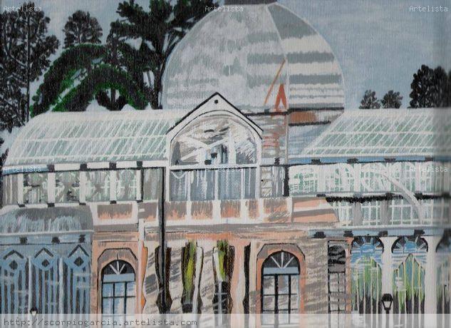 Palacio de Cristal Otros Acrílico Paisaje