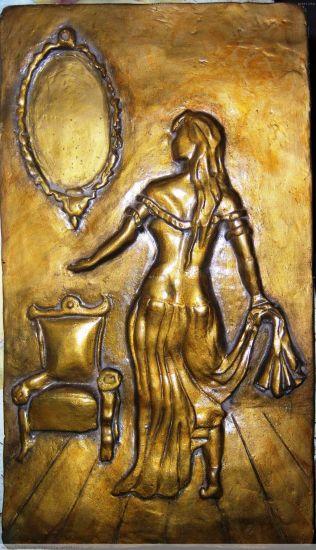 relieve de dama antigua Otros Figurativa