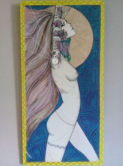 Morgana Tabla Media Mixta Desnudos