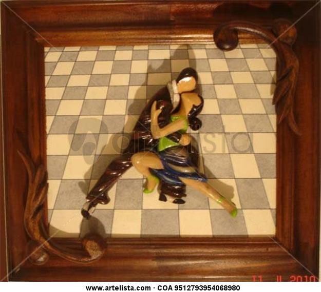 PATIO DE LA MOROCHA Madera Figurativa