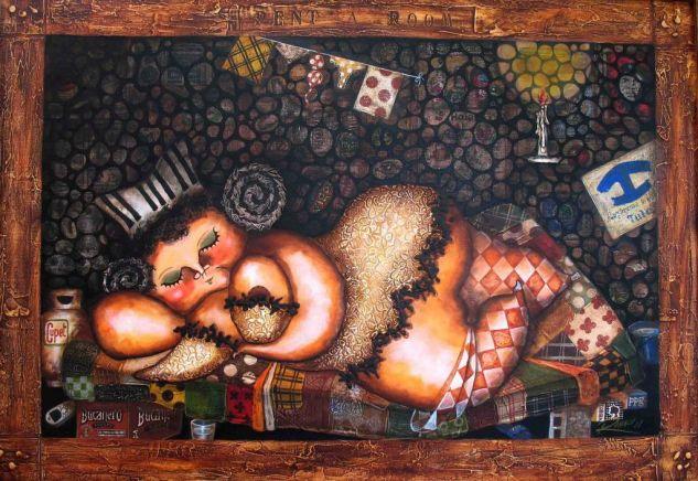 El cuarto de TULA> Acrílico Lienzo Figura